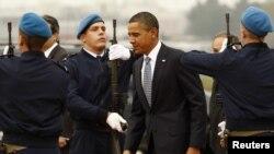 Обама Лиссабонда.