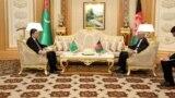 Türkmenistanyň prezidenti Gurbanguly Berdimuhamedow Aşgabatda Owganystanyň prezidenti Aşraf Gani bilen duşuşdy, 21-nji fewral, 2019-njy ýyl