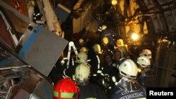 Ռուսաստան - Փրկարարական աշխատանքները Մոսկվայի մետրոպոլիտենում, 15-ը հուլիսի, 2014թ․