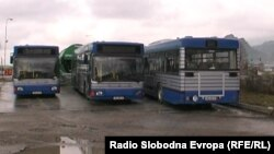 Автобуси за јавен превоз во Прилеп.