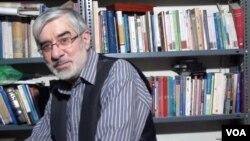 میرحسین موسوی، از رهبران جنبش سبز