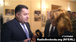 Замість відповідей на запитання від Степана Полторака журналісти почули звинувачення