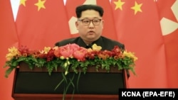 North Korean leader Kim Jong Un has vowed to freeze nuclear and missile tests. (file photo).