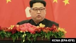 Ким Чен Ын, Солтүстік Корея президенті.