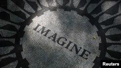 Центральный парк в Нью-Йорке: мемориал Джона Леннона