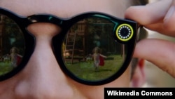 "Kameralı ""Spectacles"" gun eynəyi"