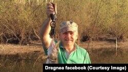 Liviu Dragnea, la pescuit pe insula Belina