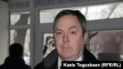АҚШ-тың Қазақстандағы бас консулдығының өкілі Тимоти П. О'Коннор. Алматы, 15 қаңтар 2016 жыл.