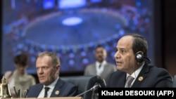 Египттин президенти Абдел-Фаттах ас-Сиси.