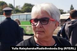 Надія Лещик, мама вбитої патрульної Ольги Макаренко