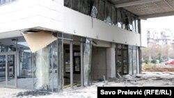 Podgorica, 19. januara, nakon posljednje od tri eksplozije u zadnjih mjesec dana
