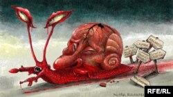 Политикан карикатура (Автор: Кустовский Олексей)