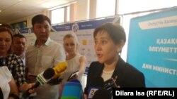 Тамара Дуйсенова - вазири кор ва ҳифзи иҷтимоии Қазоқистон