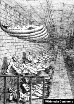 Долговая тюрьма Маршалси, 1729