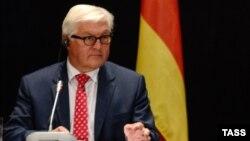 Франк-Вальтер Штайнмайер, Германия сыртқы істер министрі.