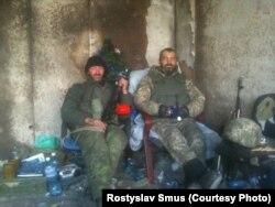 «Кіборги» Ростислав Смусь і Сергій «Сєдой»