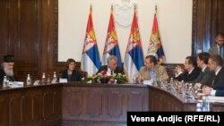 Sa sastanka kod presednika Nikolića