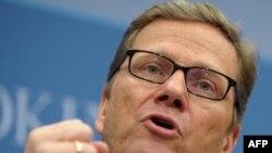 Шефот на германската дипломатија Гвидо Вестервеле