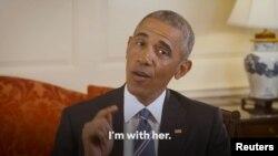 Barak Obama u videu kojim je podržao kandidaturu Hilari Klinton