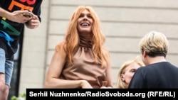Українська артистка, учасниця «Голосу країни» Зіанжа взяла участь у цьогорічному «Марші рівності»