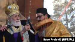 U Crnogorskoj pravoslavnoj crkvi očekuju priznanje autokefalnosti (na fotografiji desno mitropolit Mihailo)