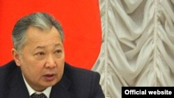 Kyrgyz President Kurmanbek Bakiev said the decision to close the base is 'final.'