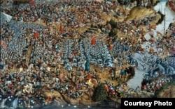 Карціна «Бітва пад Воршай 8 верасьня 1514 г.», 1520 год