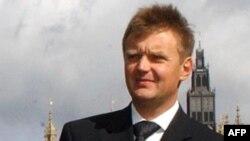 Бывший офицер КГБ Александр Литвиненко. Лондон, 14 сентября 2004 года.