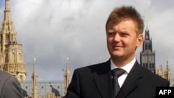 Александр Литвиненко, бывший офицер ФСБ России. Лондон, 14 сентября 2004 года.