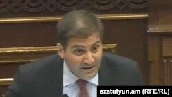 Депутат Национального cобрания Арман Бабаджанян (архив)