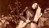 Шешен әйелі. Фотограф - Д. А. Никитин. 1870 жылдар.