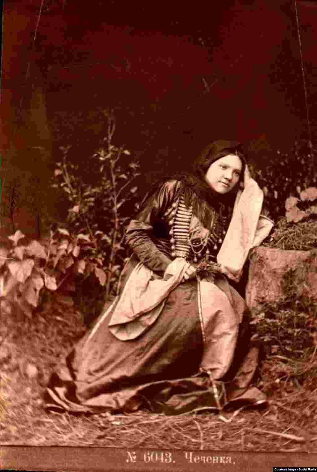 Чеченка, дочь Генжуева из Воздвиженска. Фотография Д. Ермакова