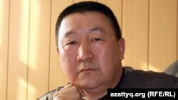 Главный врач центральной больницы города Жанаозен Мурад Сарыев. Город Жанаозен Мангистауской области, 17 февраля 2012 года.