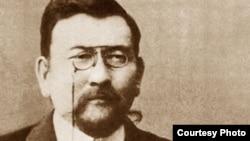 """""""Алаш"""" партиясының жетекшілерінің бірі Ахмет Байтұрсынов."""