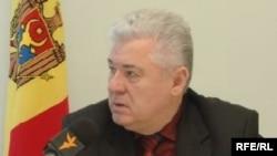 Vladimir Voronin în cursul unui interviu cu Europa Liberă