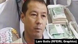 Предприниматель из Ташкентской области Ахмад Турсунбаев.