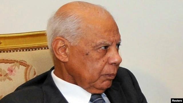 Egyptian interim Prime Minister Hazem el-Beblawi