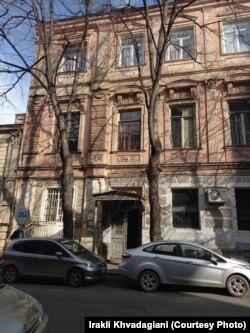 სახლი ქიქოძის (პაშკევიჩის) ქუჩაზე, სადაც ბენია ცხოვრობდა