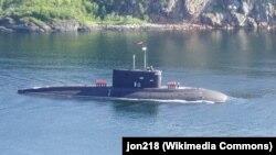Подводная лодка проекта 636 «Варшавянка» в Полярном, Мурманская область России