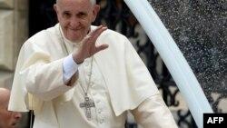 Папа рымскі Франціша