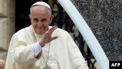Լեհաստան - Հռոմի Պապ Ֆրանցիսկոսը Կրակովում, 27-ը հուլիսի, 2016թ.