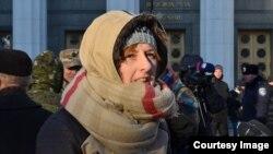 Журналіст та активіст Настя Станко, Київ, 2 грудня 2014 року