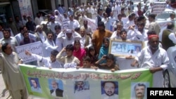 Doctor's protest kidnappings in Quetta, Balochistan.