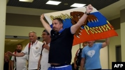Russian soccer fan leader Aleksandr Shprygin was deported from France for a second time following violence at the Euro 2016 games.