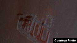 Скриншот из полицейского видео, приобщенного к материалам дела