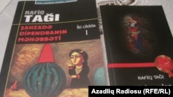Rafiq Tağının kitabları
