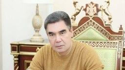 Туркменистанан президент Бердымухамедов Гурбангулы.