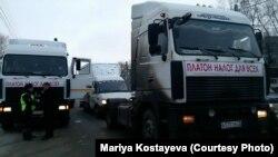 Ульяновск. Протест дальнобойщиков