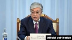 Президент Казахстан Касым-Жомарт Токаев.
