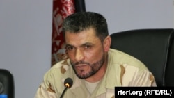 Abdul Hamid Hamidi, the police chief of Kunduz Province (file photo)